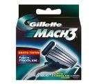 @Amazon.de Gillette MACH3 Systemklingen 6er Set 1 x ProGlide Power Klinge mit Adapter