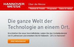 Gratis Dauerkarte für Hannover Messe  inkl. Nahverkehr (GHV) – 23. – 27.04.2012