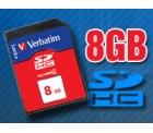 Gratis bei Pearl (nur Versandkosten)  VERBATIM 8GB SDHC-Speicherkarte Class 4 (SD2.0)
