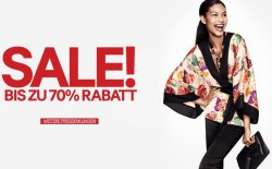 Großer Sale bei H&M mit bis zu 70% Rabatt