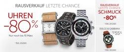 Großer Uhrensale bei Amazon – bis zu 80% Rabatt