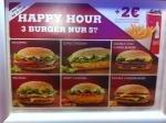 Happy Hour bei Burger King: 3 Burger für nur 5,99 Euro