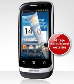 Huawei Ideos X3 für 79,95 € inkl. Versandkosten und 5 € Startguthaben @Tchibo (mit O2-Netlock)