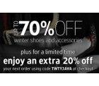 Javari UK: bis 70% Rabatt auf Schuhe + 20% Extra-Rabatt und Gratisversand