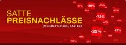 Preisnachlässe im Sony Outlet-Store + nochmals 18% Rabatt obendrauf auf generalüberholte Artikel mit 2 Jahren Garantie