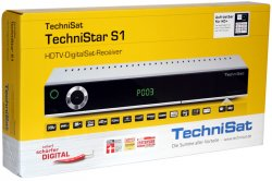 TechniSat TechniStar S1 HDTV-Digitaler Satelliten-Receiver für 149,90 €