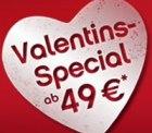 Valentinsspecial bei airberlin – 1 Million Tickets ab 49€ – nur bis Dienstag