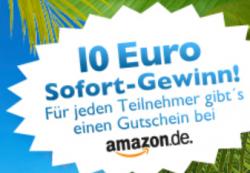 10€ Amazon Gutschein für Hompage- und Blog-Betreiber