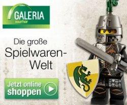 15% auf alle Spielwaren bei Galeria-Kaufhof (ab 15€ versandkostenfrei)