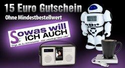 15 Euro Gutschein von sowaswillichauch.de ohne MBW – für 15 Euro gratis einkaufen (nur VSK)