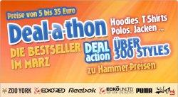 4clever.de  Deal-a-thon Markenklamotten für 5 – 35 €
