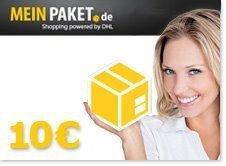 5000x 10 € MeinPaket-Gutschein mit nur 25 € MBW
