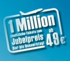 airberlin – nur bis Donnerstag – 1 Mio. zusätzliche Tickets ab 49 €