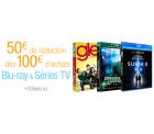Amazon.fr: 50 € Rabatt beim Kauf von Blu-Rays im Wert von 100 €