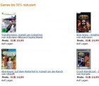 Amazon reduziert Games bis zu 30%