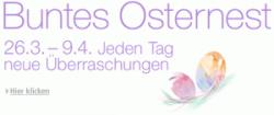 Amazon's Osternest – Jeden Tag neue Überraschungen (26.03.2012 – 09.04.2012)