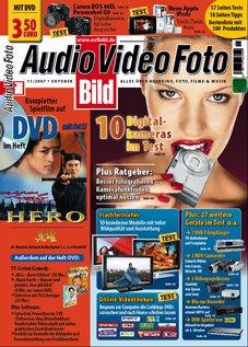 Audio Video Foto mit DVD –  1 Jahr abonieren für nur 5,40 € im Jahr ( Leser werben Leser ) – nur bis 13.03.2012