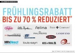 ebay Fashion-Outlet Frühlingsrabatt – bis zu 70 % Rabatt bei vielen verschiedene Shops