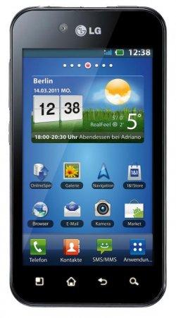 Update: Noch gültig! LG P970 Optimus Black Android-Handy für 199 € bei Saturn