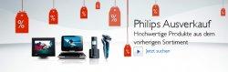 Philips Ausverkauf: Produkte aus dem vorherigen Sortiment bis zu über 40% reduziert + zusätzlich 10% Rabatt (auch auf red. Ware) + versandkostenfrei ab 20 Euro