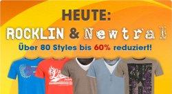 Rocklin & Newtral T-Shirts um 60% reduziert bei 4clever