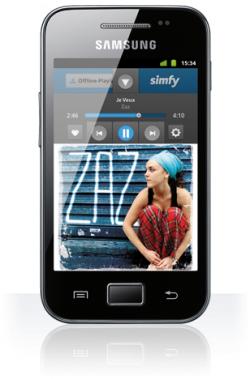 Samsung Galaxy Ace für nur 125 € stat 180 € ohne Sim-/Netlock im O2-Shop