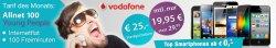Samsung Galaxy S2 für 0 € mit VF Allnet 100 Internet für19,95 €