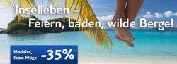Tuifly.de – Flüge nach Ibiza und Madeira 35% günstiger (gültig bis 27.03.2012)