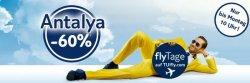 Tuifly – noch bis Montag 60 % auf Flüge nach Antalya ( Türkei )