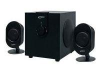 Typhoon SW-300 2.1 Lautsprechersystem mit Holz-Woofer und Bass-Reflexsystem nur 9,99€ versandfrei @ amazon