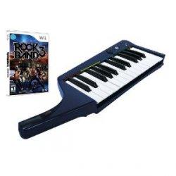 Wii: Rock Band 3 mit Keyboard nur 24,99 € inkl. VSK oder Xbox: Rock Band 3 Keyboard nur 17,99 €@HitFox