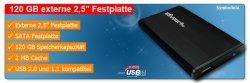 "120GB externe 2,5"" USB 2.0 Festplatte für 41,90 inkl. Versand"