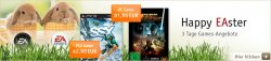 3 Tage Games-Angebote bei Buch.de, Thalia.de und Bol.de (PC, Wii, PS3, Xbox360, DS)