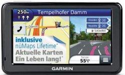 4.3 Zoll Garmin Nüvi 2495 LMT + Garmin Ledertasche und lebenslangen Kartenupdates für 149,90€