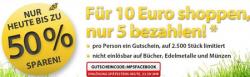 5€ MeinPaket Gutschein mit 9,99€ Mindestbestellwertz.B. 16GB MicroSD Speicherkarte für nur 5,99€
