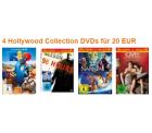 Amazon: 4 Hollywood Collection DVDs für 20 €