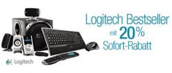 Amazon: Logitech Bonuswochen – 20 % Sofortrabatt beim Kauf von 2 Logitech-Produkten