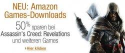 """Amazon testet – Games-Downloads """"beta"""": 50% auf Spiele + 1 Spiel kostenlos"""
