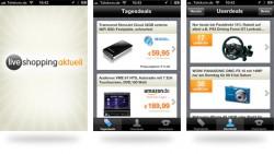 Liveshopping Aktuell als iPhone App. Neue Version testen und Preise im Gesamtwert von 1200 EUR gewinnen!