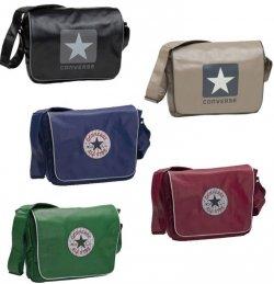 Converse Vintage Patch + Blocklogo Shoulder Taschen in 5 Farben für nur 29,95 Euro bei eBay