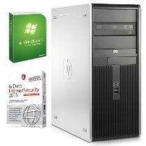 HP Compaq dc7800 CMT / Intel Pentium DualCore E2180 / Win 7 / G-Data IS 2013 für 111 Euro beim Dealclub