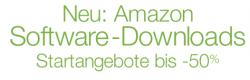 Jetzt auch Software-Downloads bei Amazon
