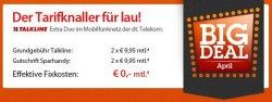 Komplett kostenlose Handyverträge mit Handys ab 1 Euro z.B. Samsung Galaxy Y