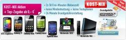 Komplett kostenlose Handyverträge mit Handy (HTC, Samsung Galaxy,…) für 0€!