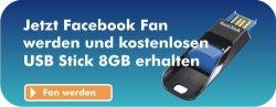 Euronics XXL Schneider Fan werden und SanDisk 8GB USB Stick kostenlos abstauben