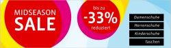 Midseason Sale bis zu 33% bei Mirapodo
