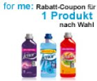 Neue Coupons bei for me – Ariel, Pantene, Wick, blend-a-med, Lenor & Co. günstiger durch Gutscheine kaufen
