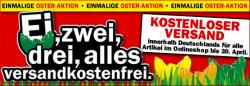 Osteraktion bei Mediamarkt: Kostenloser Versand bis 30.04.2012 (z.B. Sony PRS-T1 für 139 € oder LG 42LW470S für 699 €)