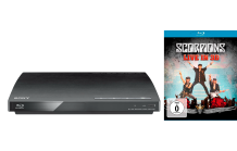 SONY BDP-S185 Blu-ray Player + Scorpions Blu-ray 2D/3D für nur 65 € bei Saturn