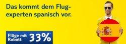 Tuifly.de – 33% Rabatt auf Flüge nach Spanien – ab 49,00€ ab in die Sonne